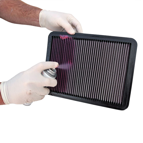 Mantenimiento del filtro de aire de la moto