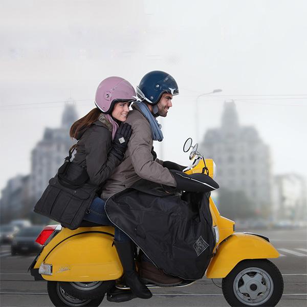 Salir en moto en invierno y no pasar frío es posible [Segunda parte]