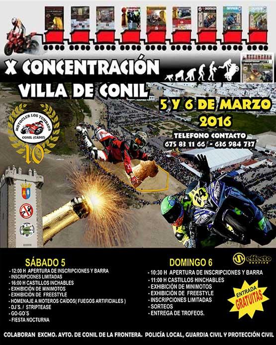 Concentración Motera Villa de Conil 2017