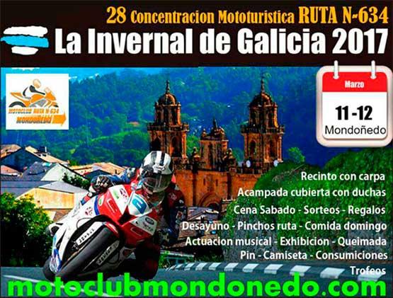 Concentración Mototurística N-634 2017