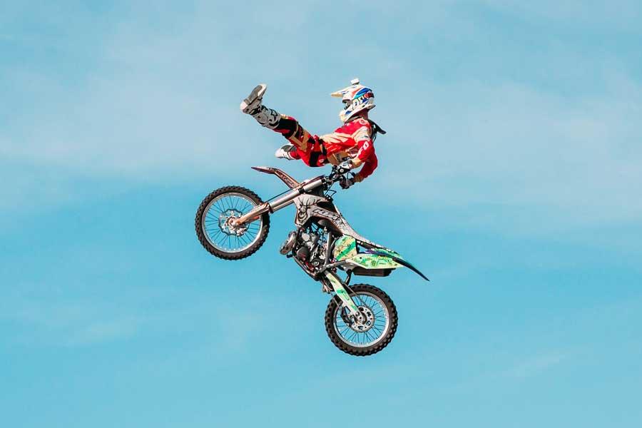 Especial protecciones off road: la adrenalina segura