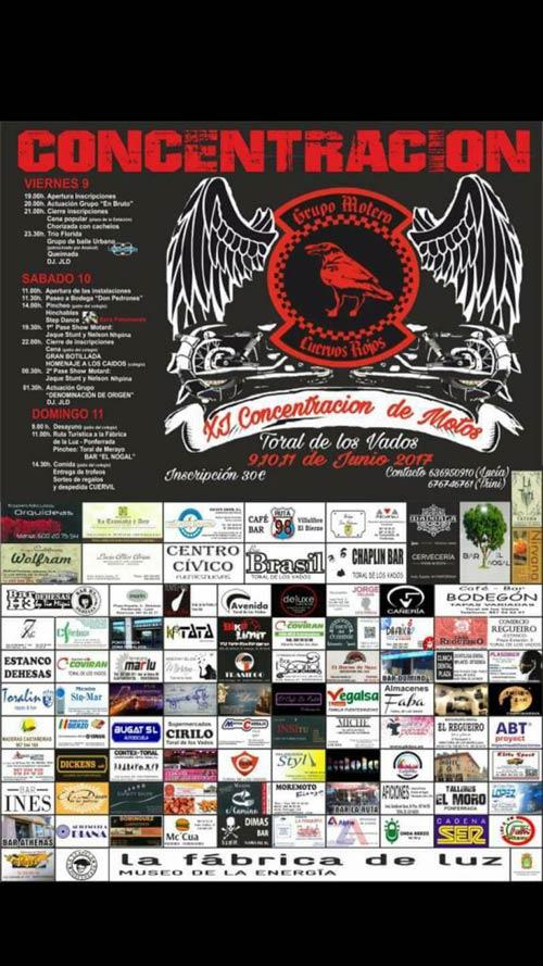 XI Concentración de motos Cuervos Rojos