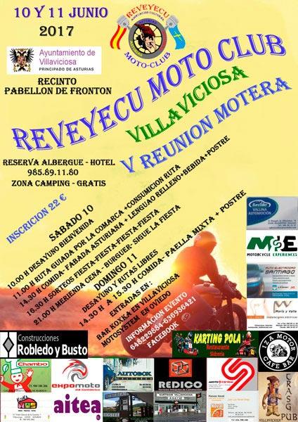 V Reunión motera AC Reveyecu Moto-Club