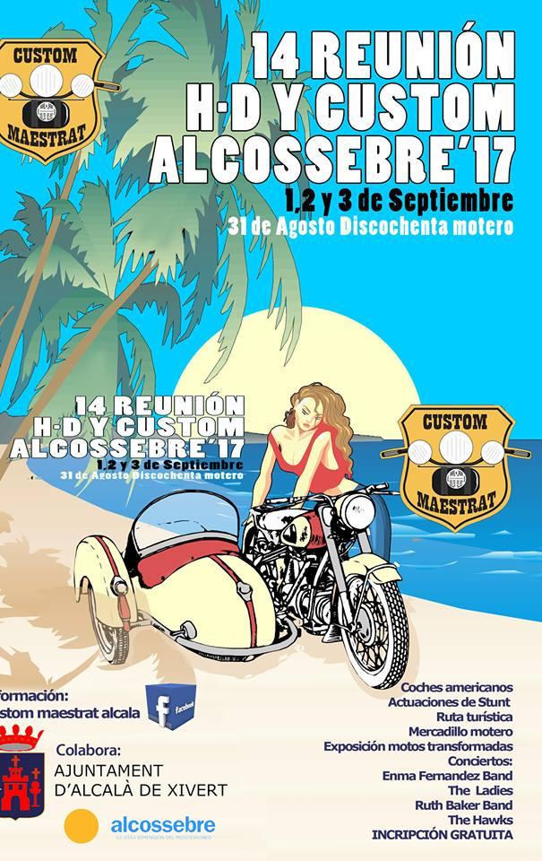XIV Reunión Harley Alcossebre