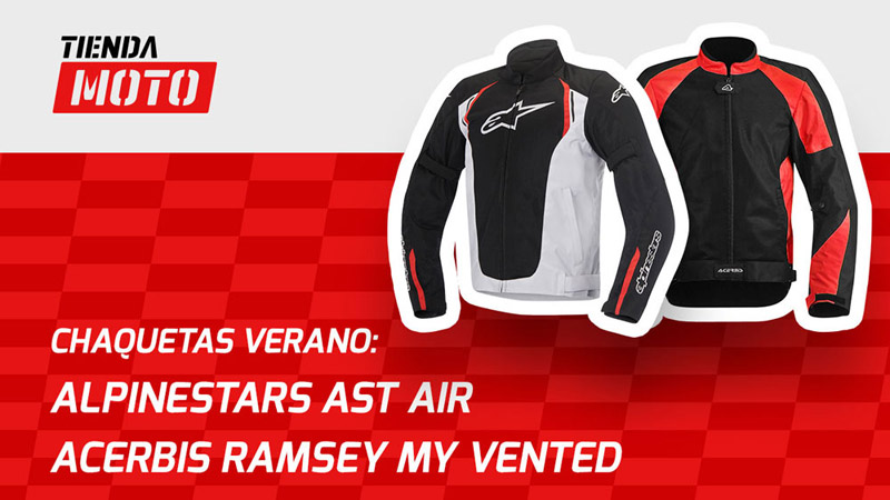 Chaquetas Acerbis Ramsey My Vented y Alpinestars AST AIR [Vídeo]