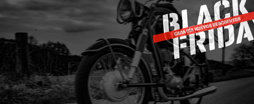 No te pierdas la semana Black Friday en Tienda Moto