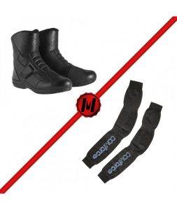 pack-botas-alpinestars-ridge-medias-spidi-thermo-legging