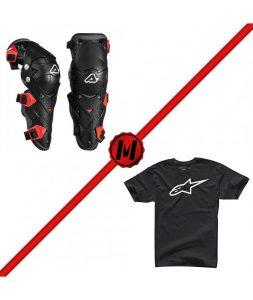 pack-rodilleras-acerbis-impact-evo-30-camiseta-alpinestars-ageless-classic