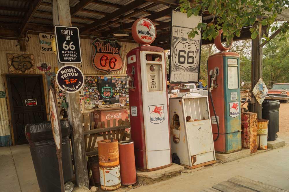 Maravillas, paradas míticas y marcianadas de la Ruta 66