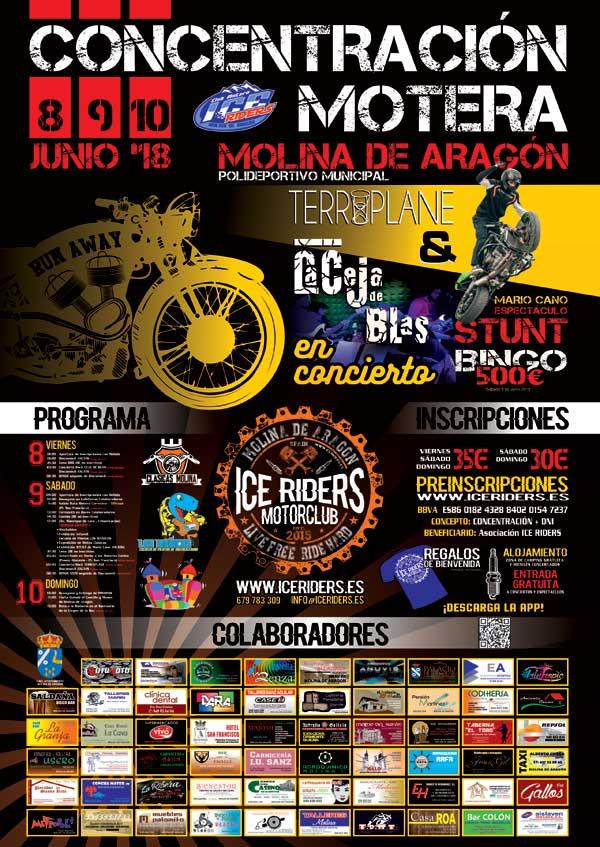 cartel-concentracion-ice-riders-2018-molina-de-aragon