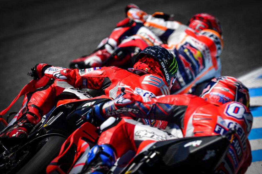 ¿Qué cascos usan los pilotos de MotoGP 2018?