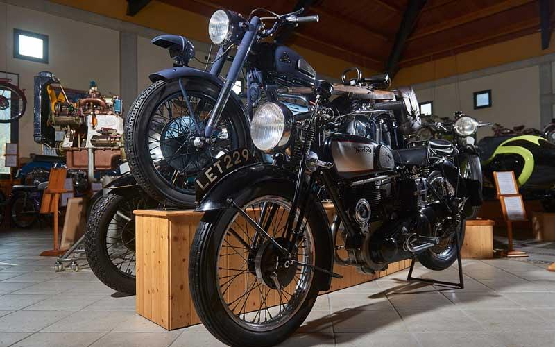 Arte a dos ruedas: los museos de la moto más sobresalientes