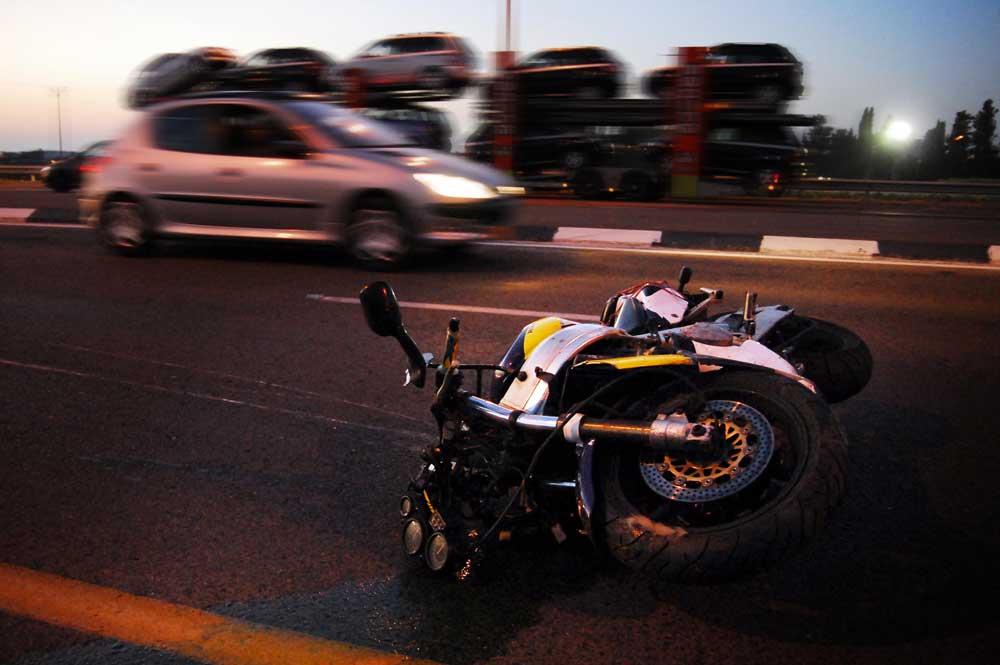 Guía básica para saber qué hacer si tienes un accidente de moto