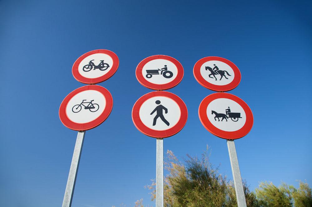 ¿Cómo te llevas con las señales de tráfico? [Test]