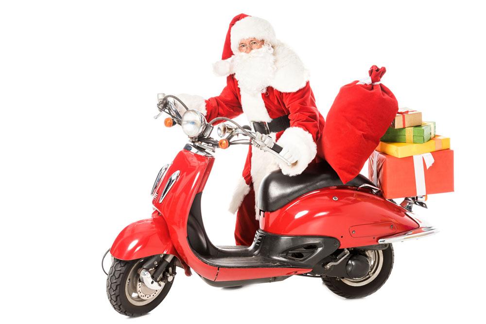 Navidad a todo gas en Tienda Moto