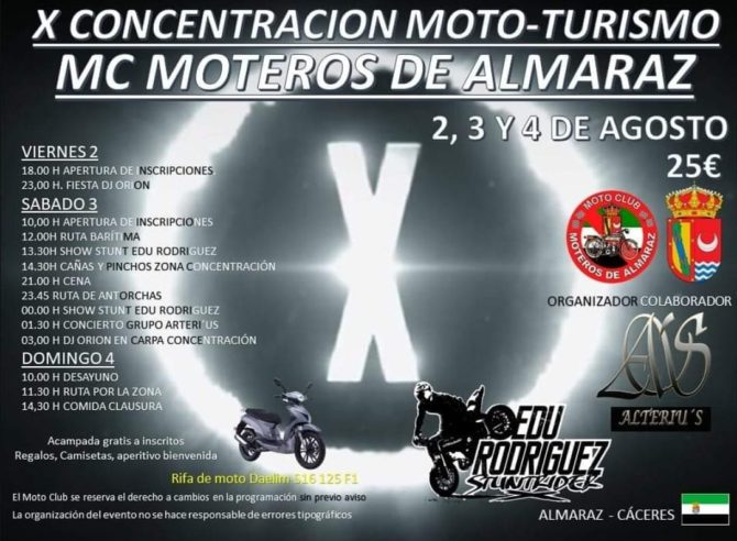 X Concentracion motera Almaráz_2019