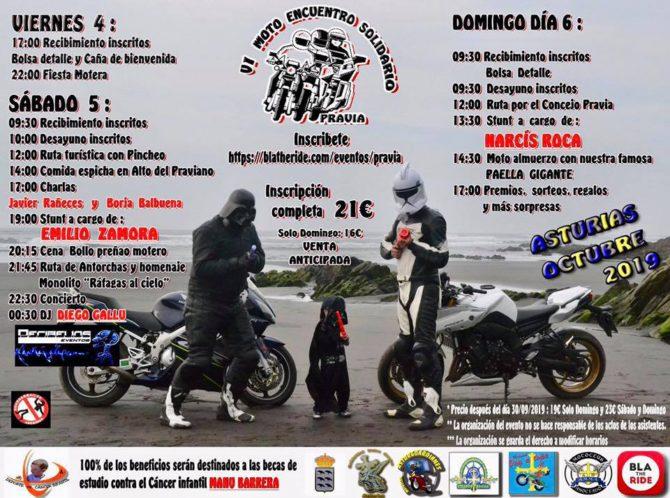 Programa VI Moto encuentro solidario