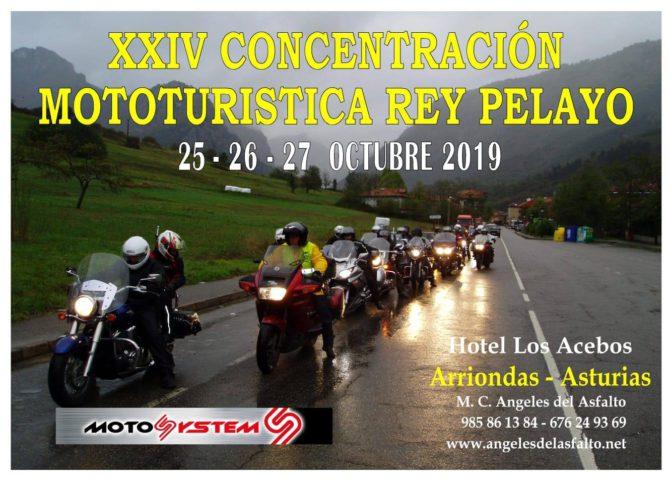 XXIV Concentración mototuristica otoñal Rey Pelayo