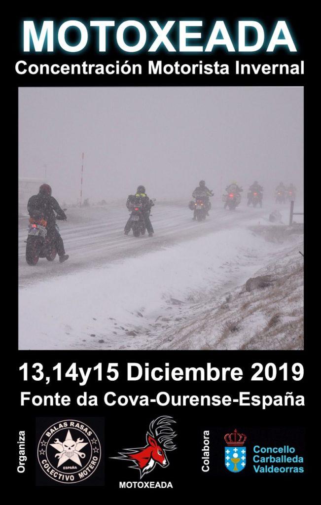Concentración motorista invernal Motoxeada 2019