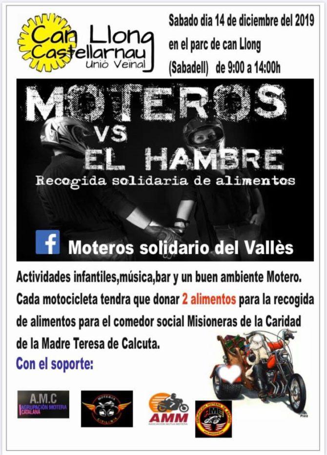 Moteros VS El Hambre